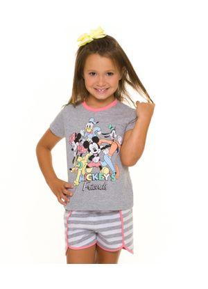 Pijama-Infantil-Feminino-Mickey-s-Friends-Disney-Cinza