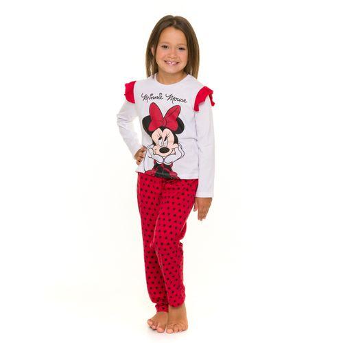 Pijama-Infantil-Feminino-Minnie-com-Babados-Disney-Branco