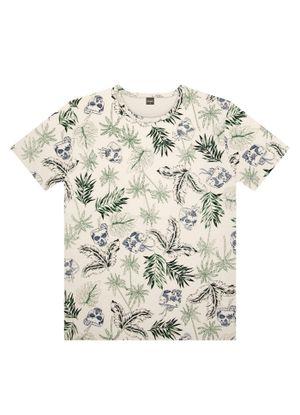 Camiseta-Juvenil-Estampada-Rovitex-Teen-Bege