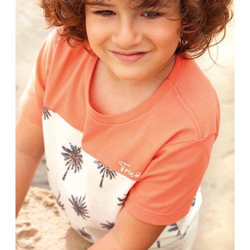 Camiseta-Infantil-Masculino-Trick-Nick-Laranja