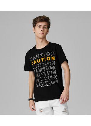 Camiseta-Juvenil-Meia-Malha-Rovitex-Teen-Preto