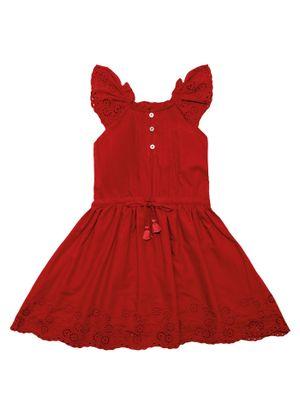Vestido-Infantil-Trick-Nick-Vermelho