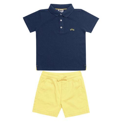 Conjunto-Infantil-Polo-com-Bermuda-Trick-Nick-Azul