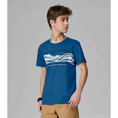 Camiseta-Juvenil-Estampada-Rovitex-Teen-Azul