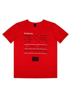 Camiseta-Juvenil-Masculina-Rovitex-Teen-Vermelho