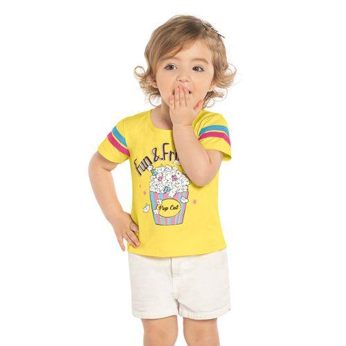 Blusa-Infantil-Pipoca-Rovitex-Kids-Amarelo