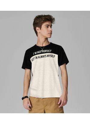 Camiseta-Juvenil-Masculina-Rovitex-Teen-Bege
