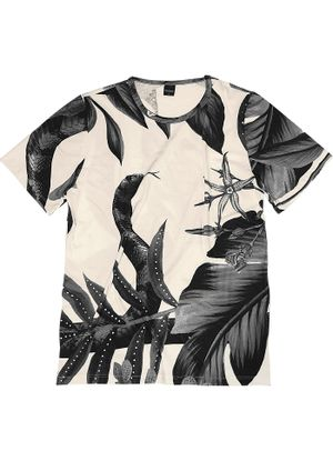 Camiseta-Masculina-Estampada-Rovitex-Branco