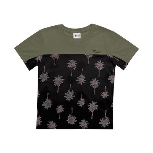 Camiseta-Infantil-Masculino-Trick-Nick-Verde