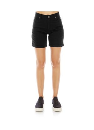 Short-Canvas-Feminino-Rovitex-Preto