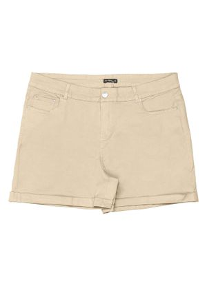 Short-Canvas-Feminino-Rovitex-Cinza