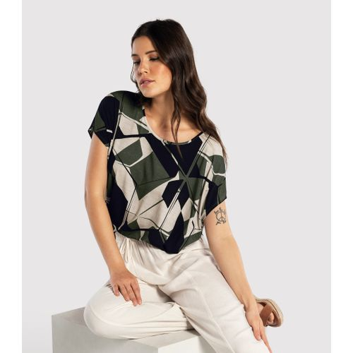 Blusa-Feminina-Estampada-Endless-Verde