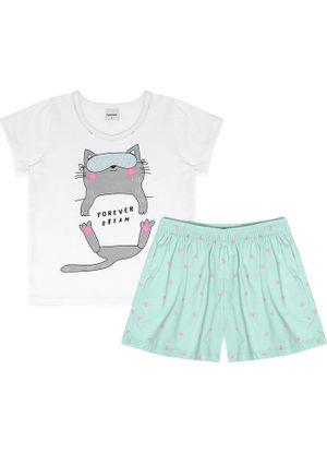 Pijama-Infantil-Feminino-Rovitex-Kids-Branco