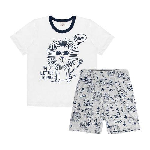 Pijama-Infantil-Masculino-Leaozinho-Rovitex-Kids-Branco