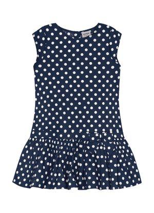 Vestido-Feminino-Rovitex-Kids-Azul