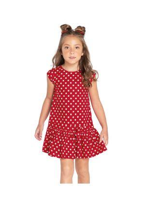 Vestido-Feminino-Rovitex-Kids-Vermelho
