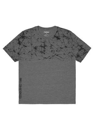 Camiseta-Masculina-Adulto-Rovitex-Cinza