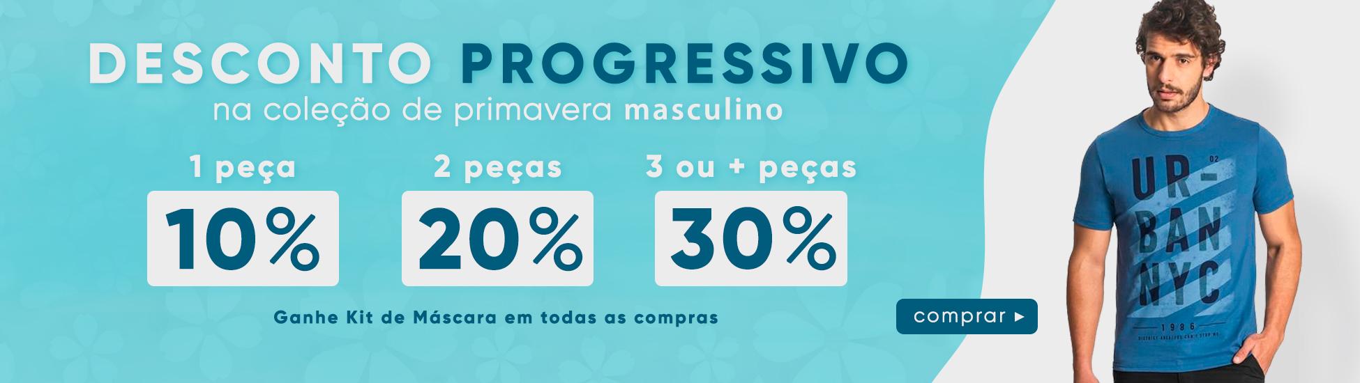 Masculino Progressivo