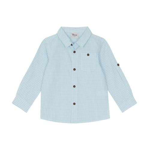 Camisa-Tricoline-Masculina-Trick-Nick-Azul