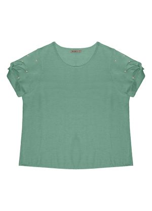 Blusa-Feminina-Plus-Size-Secret-Glam-Verde