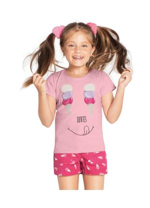 Conjunto-Blusa-com-Short-Feminino-Rovitex-Kids-Rosa