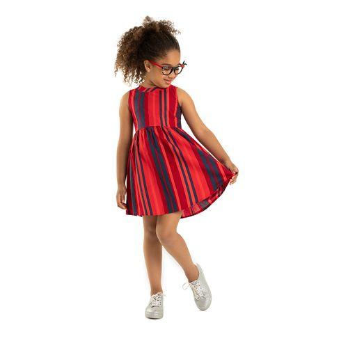 Vestido-Tricoline-Feminino-Rovitex-Kids-Vermelho