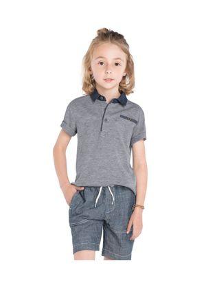 Camisa-Polo-Masculina-Trick-Nick-Cinza