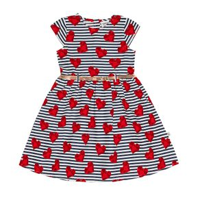 Vestido-Popeline-Feminino-Rovitex-Kids-Vermelho