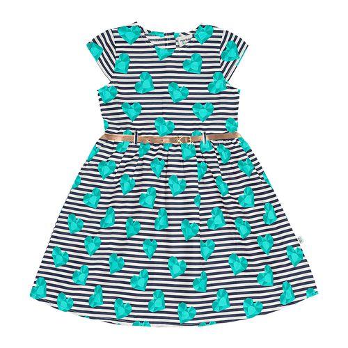 Vestido-Popeline-Feminino-Rovitex-Kids-Verde