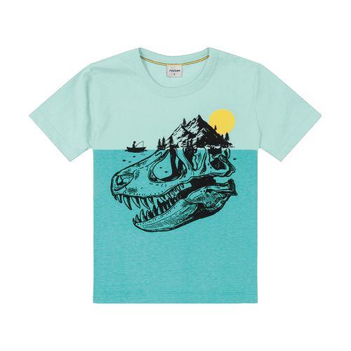 Camiseta-Infantil-Rovitex-Kids-Azul