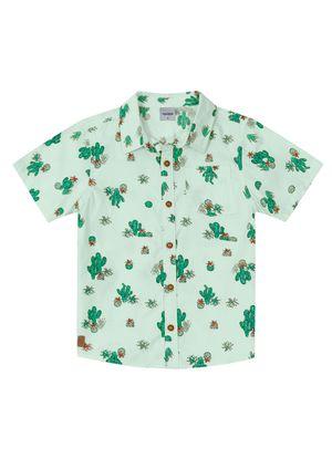 Camisa-Infantil-Rovitex-Kids-Verde