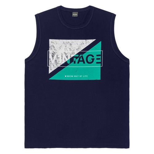 Regata-Machao-Masculina-Adulto-Rovitex-Azul