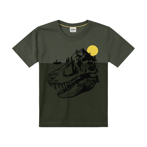 Camiseta-Infantil-Rovitex-Kids-Verde