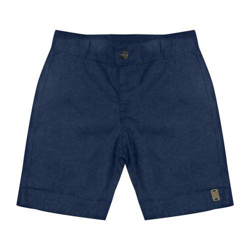 Bermuda-Infantil-Masculino-de-Sarja-Rovitex-Kids-Azul