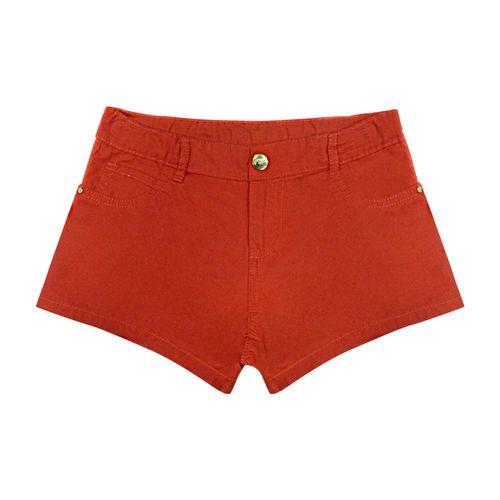Shorts-Infantil-Feminino-Rovitex-Kids-Vermelho