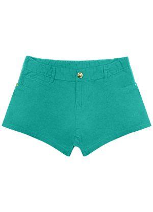 Shorts-Infantil-Feminino-Rovitex-Kids-Verde