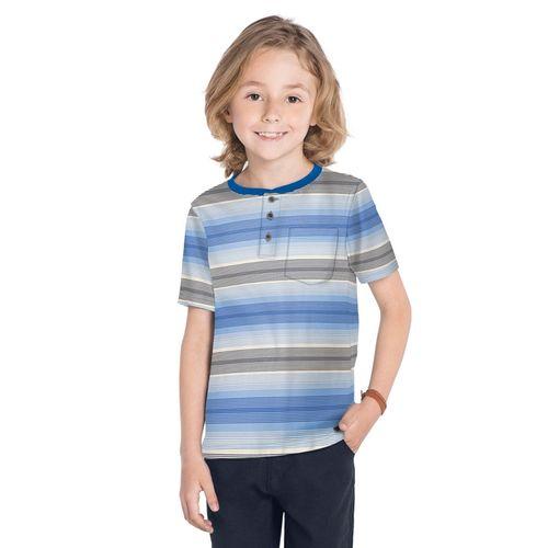 Camiseta-Meia-Malha-Masculina-Trick-Nick-Azul