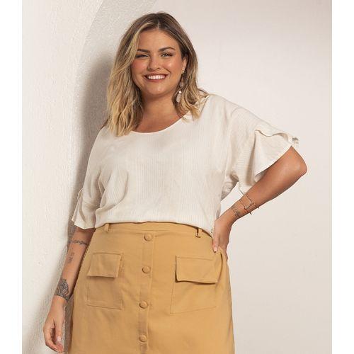 Blusa-Plus-Size-Feminina-Viscolinho-Secret-Glam-Bege