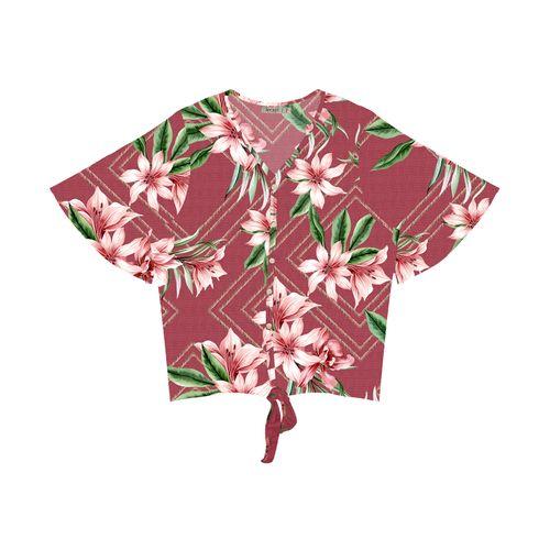 Camisa-Plus-Size-Feminina-Estampada-Secret-Glam-Vermelho