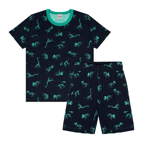 Pijama-Infantil-Masculino-Dinossauros-Rovitex-Kids-Azul