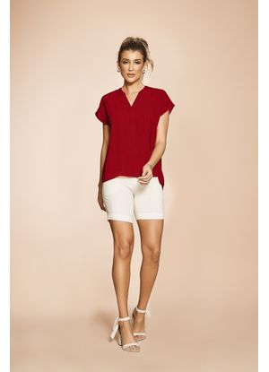 Blusa-Adulto-Lisa-Feminina-Rovitex-Vermelho