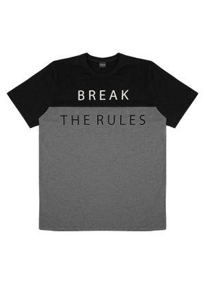 Camiseta-Masculina-Duas-Cores-Rovitex-Preto