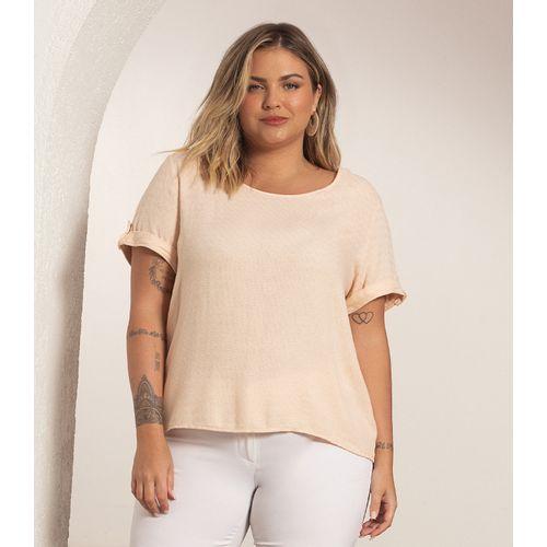 Blusa-Plus-Size-Feminina-de-Viscolinho-Secret-Glam-Rosa