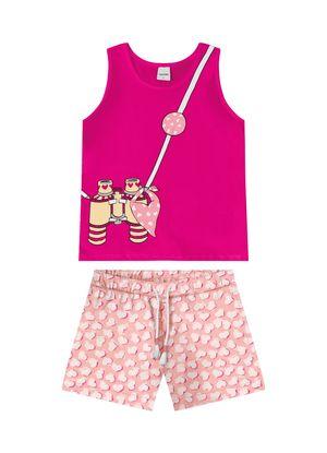 Conjunto-Infantil-Regata-com-Shorts-Rovitex-Kids-Rosa
