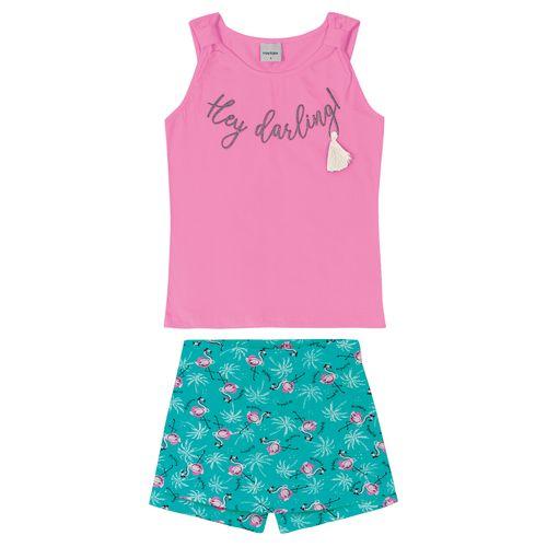 Conjunto-Infantil-Feminino-Flamingo-Rovitex-Kids-Rosa