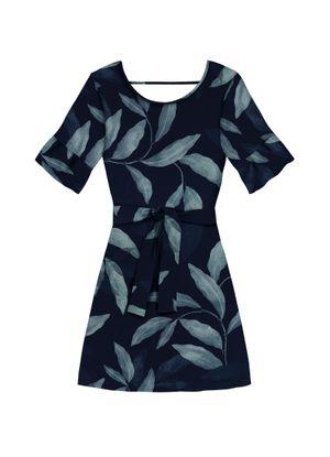 Vestido-Estampado-Floral-Endless-Azul