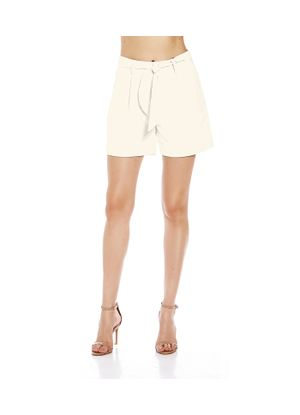 Shorts-Feminino-Linho-Endless-Bege