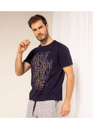 Camiseta-Alternative-Masculina-Adulto-Rovitex-Azul