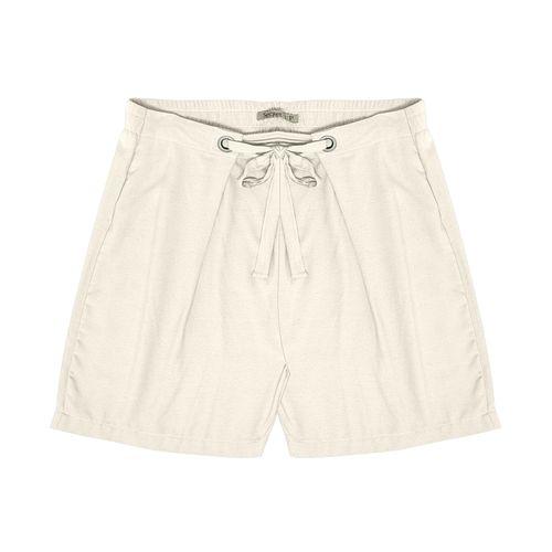 Shorts-Feminino-Plus-Size-Secret-Bege