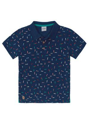 Camisa-Polo-Infantil-Masculina-Rovitex-Kids-Azul